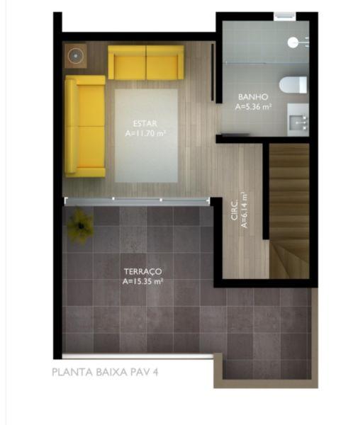 EXCELENTE CONSTRUÇÃO DE 5 CASAS NO BAIRRO NONOAI.  área serviço, estar intimo, banho auxiliar, hall, sala jantar, churrasqueira, lareira, lavabo, cozinha montada, terraço, vista panoramica.